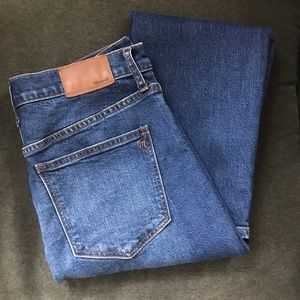 Madewell Jeans Cruiser straight Size 29 High Rise
